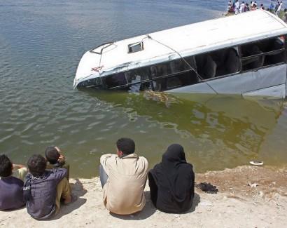 14 զոհ Եգիպտոսում տեղի ունեցած ուղևորատարի վթարից