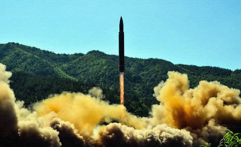 Հյուսիսային Կորեան հրթիռ է արձակել Կիմ Չեն Ըն ներկայությամբ