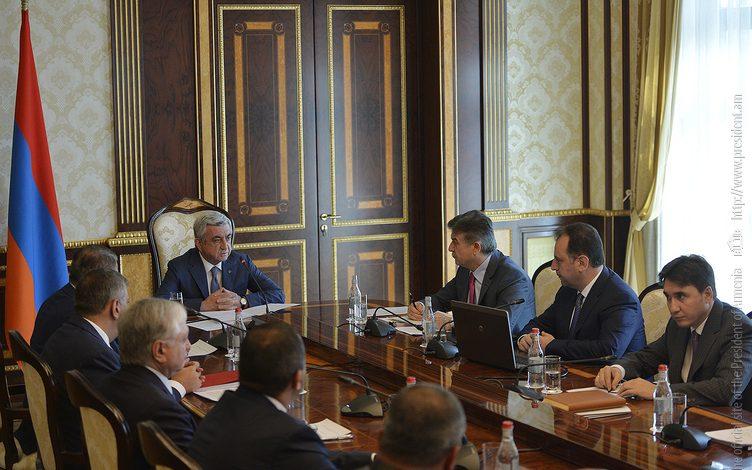 Սերժ Սարգսյանը անվտանգության խորհրդի նիստ է հրավիրել
