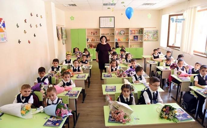 Արցախում այս տարի առաջին դասարան է գնում շուրջ 2500 աշակերտ