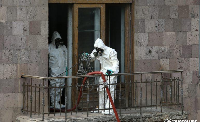 ՖՈՏՈՇԱՐՔ. Օրգանական և դեղագործական քիմիայի գիտատեխնոլոգիական կենտրոնում բռնկված հրդեհը մեկուսացված է