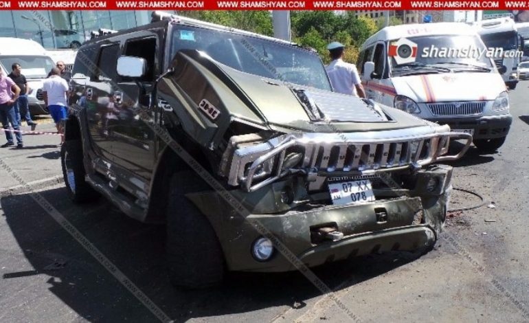 ՖՈՏՈՇԱՐՔ. Երևանում սարսափելի ավտովթար է տեղի ունեցել