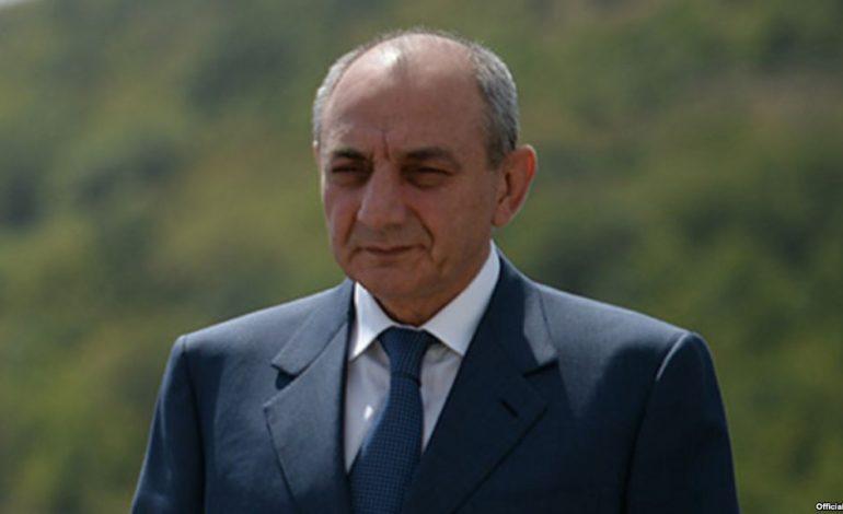 Բակո Սահակյանը շնորհավորական ուղերձ է հղել Սերժ Սարգսյանին