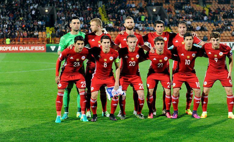 ՖԻՖԱ-ի դասակարգման աղյուսակում Հայաստանի հավաքականը նահանջել է 11 հորիզոնականով