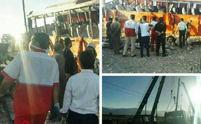 Իրանում դպրոցական ավտոբուս է շրջվել, կա 12 զոհ