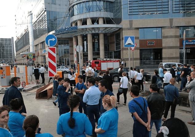 Մոսկվայում սեպտեմբերի 13-ին ավելի քան 100 հազար մարդ Է տարահանվել շենքերից եւ շինություններից