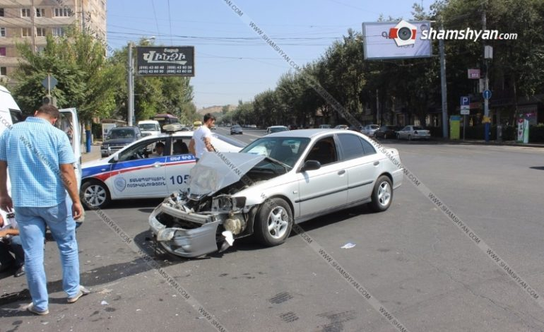 «Էրեբունի» տոնավաճառի դիմաց տեղի ունեցած ավտովթարից 2 երեխա տեղափոխվել է հիվանդանոց