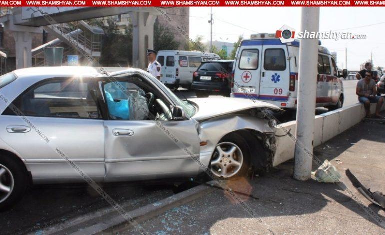 Ողբերգական դեպք Երևանում. Մանկավարժական համալսարանի դասախոսը ավտոմեքենան վարելիս՝ հանկարծամահ է եղել և բախվել բետոնե արգելապատնեշին