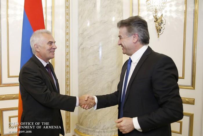 Դեսպան Սվիտալսկին վարչապետին հասկացրել է , թե ինչու Հայաստանում գումարներ չեն ներդնում