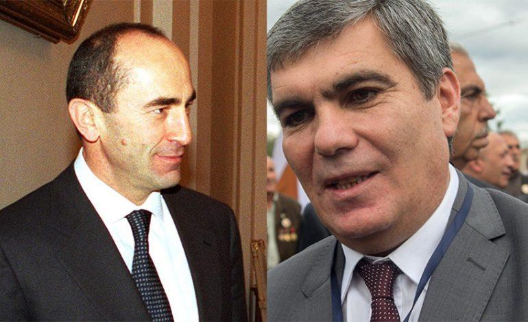 Արամ Սարգսյանը վիճել է Ռոբերտ Քոչարյանի հետ. Մութ փակագծեր