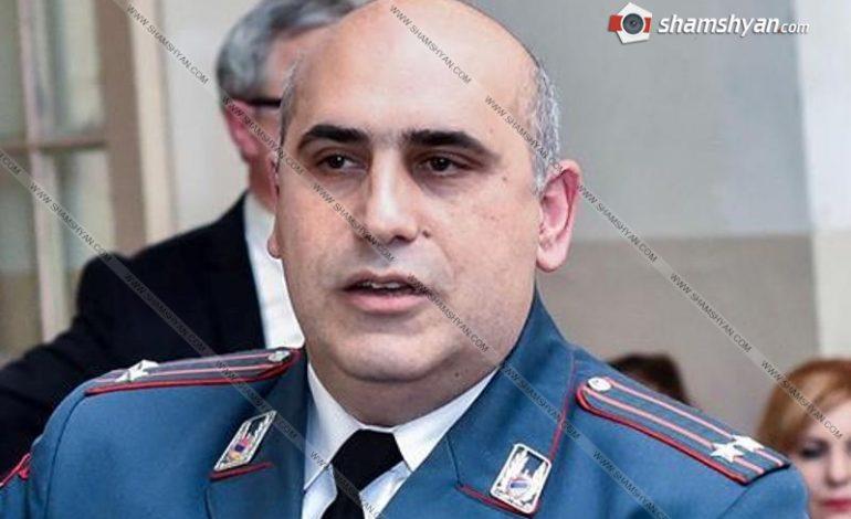 Երևանում աղմկահարույց սպանության հետ կապված՝ աշխատանքից ազատվել է Թումանյանի Ոստիկանության բաժնի պետը