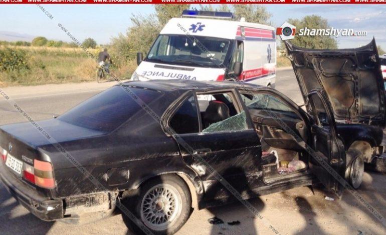 32–ամյա վարորդը «BMW»-ով կողաշրջվել է, տուժածները տեղափոխվել են հիվանդանոց