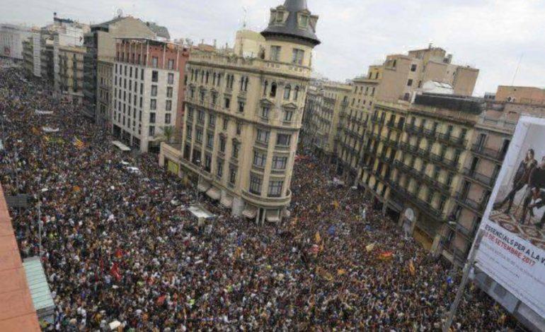 ՖՈՏՈՇԱՐՔ. Կատալոնիայում ցույցերի և գործադուլի մասնակիցների թիվը հասել է մի քանի հարյուր հազարի