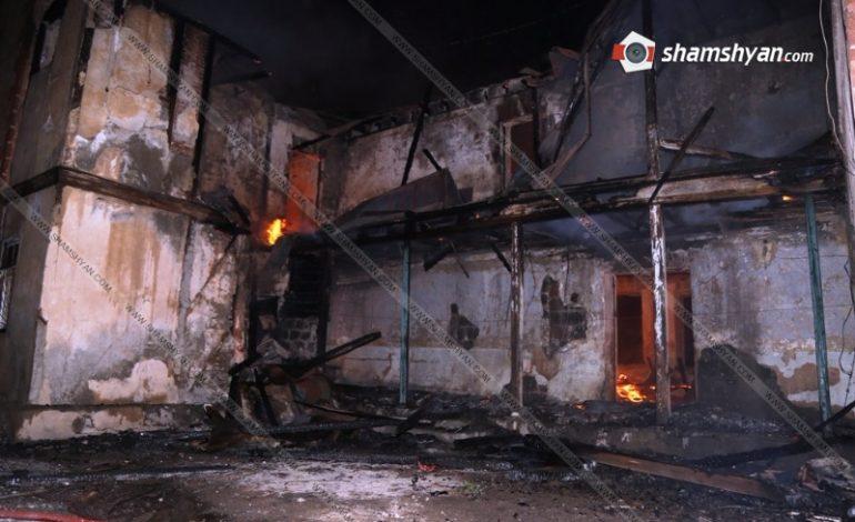 ՖՈՏՈՇԱՐՔ. Նորապատ գյուղում երկհարկանի բնակելի շենքում պայթյունից հետո խոշոր հրդեհ է բռնկվել. 14-ից ավելի ընտանիք հայտնվել է փողոցում.