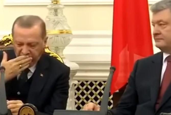 ՏԵՍԱՆՅՈՒԹ. Թուրքիայի նախագահը քնել է ասուլիսի ժամանակ
