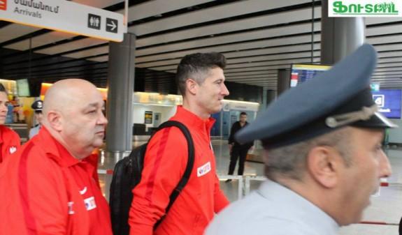 ՏԵՍԱՆՅՈՒԹ. Լեհաստանի հավաքականի ֆուտբոլիստները ժամանել են Երևան