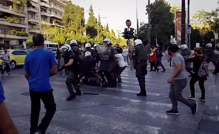 Ցույց Հունաստանում՝ Օջալանի ազատ արձակման համար