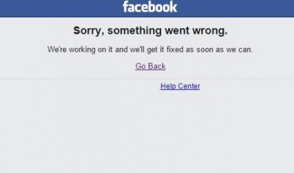 Facebook-ի աշխատանքը խափանվել է ամբողջ աշխարհում
