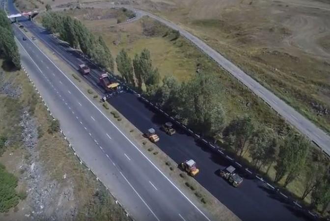 Երևան-Սևան ավտոճանապարհի հիմնանորոգումն ավարտվել է