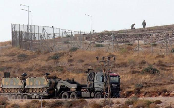 Թուրքական զրահատեխնիկան անցել Է Սիրիայի հետ սահմանը