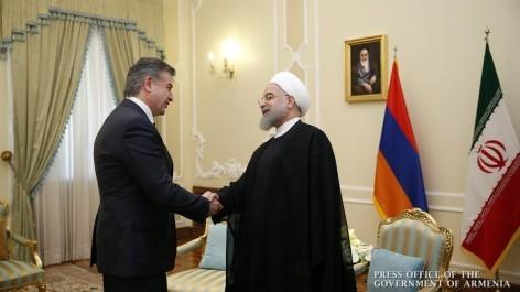 Թեհրանում  կայացել է վարչապետի և Իրանի նախագահի հանդիպումը