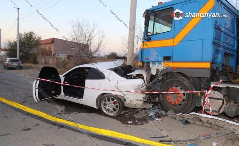 ՖՈՏՈ․ Ողբերգական վթար Գյումրիում. 25-ամյա աղջիկը մահացել է. կա վիրավոր
