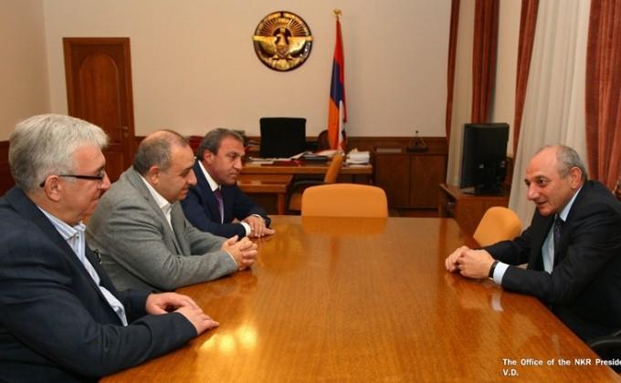 Բակո Սահակյանն ընդունել է ռուսաստանաբնակ հայ գործարարների