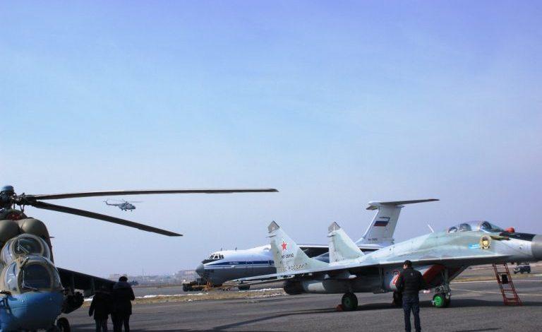 ՀՀ-ում ՌԴ ռազմական օդաչուները վարժանքներ են իրականացնում