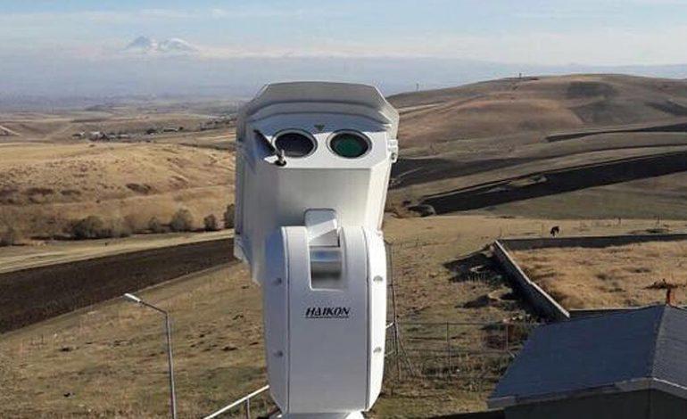 ՖՈՏՈ. Թուրքիան տեսախցիկներ է տեղադրել Հայաստանի հետ սահմանին