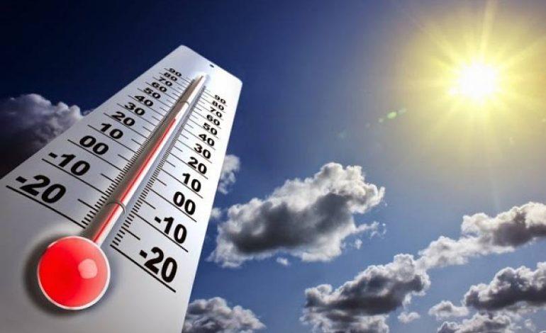 Ջերմաստիճանը կբարձրանա 4-8 աստիճանով