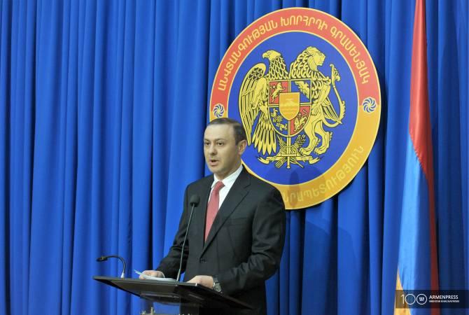 Премьер-министр Армении вернул Армена Григоряна на должность секретаря Совета безопасности