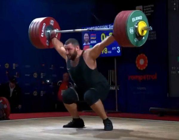 Սիմոն Մարտիրոսյանը ձախողեց հրում վարժությունում