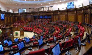 В НС Армении проходит повторное тайное голосование по избранию спикера нового парламента 8-ого созыва
