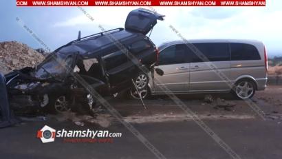 Խոշոր ավտովթար Երևանում. կան վիրավորներ