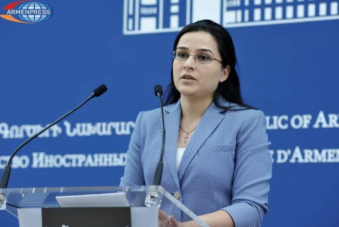 ԱԳՆ մամուլի խոսնակ Աննա Նաղդալյանը հրաժարական է ներկայացրել