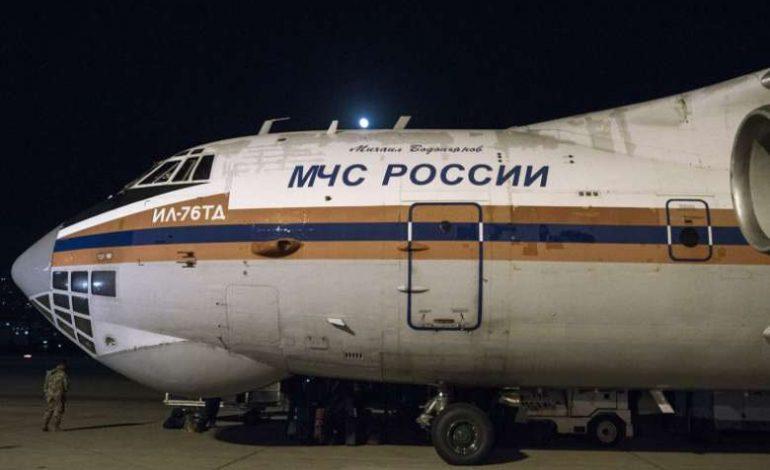 Ил-76 հատուկ ինքնաթիռը ուղևորվել է Արցախ. նոր հաղորդագրություն ՌԴ-ից