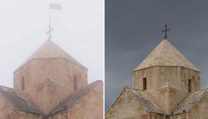 «Վանքասարի եկեղեցին պղծվեց»