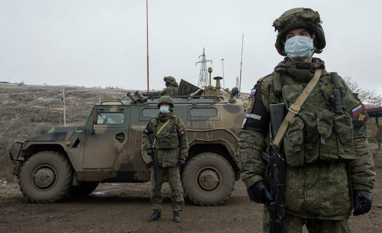 Российские миротворцы обеспечили безопасное посещение порядка 70 паломников в монастырский комплекс в Нагорном Карабахе
