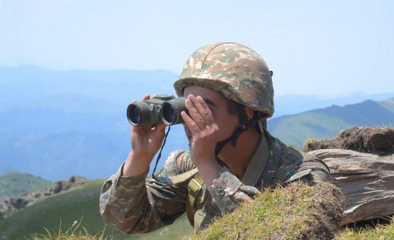 ՀՀ զինված ուժերի ծառայողների արձակած կրակի շնորհիվ է կանխվել արբեջանական զինծառայողների գողության փորձը