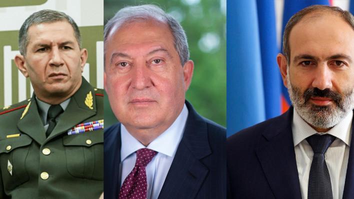 ՀՀ նախագահը՝ Օնիկ Գասպարյանին պաշտոնից ազատելու վարչապետի առաջարկության մասին