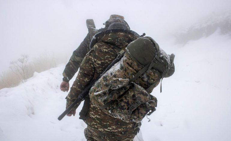 Ջերմուկի զորամասից ձնաբքի պատճառով անհետացած զինծառայողներից մեկի վիճակը միջին ծանրության է