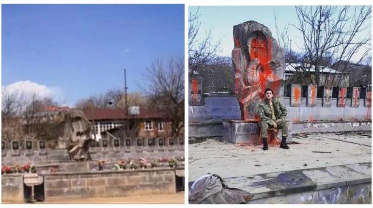 Ադրբեջանցիների վանդալիզմն` Ակնաղբյուր գյուղում