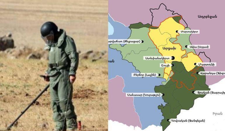 Արցախի ականապատված տարածքների քարտեզը փոխանցվե՞լ է թուրքական հատուկ ծառայություններին. քրգործը վարույթ է ընդունվել