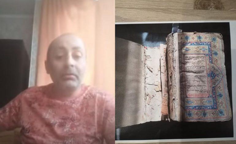ՖՈՏՈ. Վարդան Ղուկասյանի սկանդալային հայտարարությունը՝ Մատենադարանից գողացված ձեռագրերը վաճառվել են միլիոնավոր դոլարներով