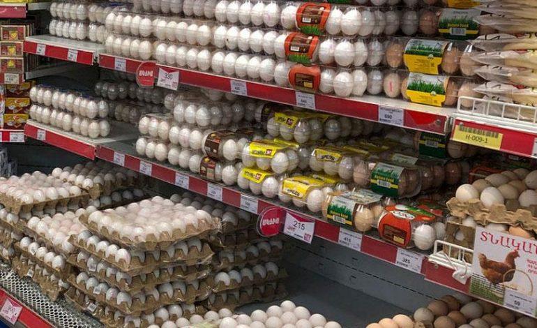 Տնական ձուն՝ մինչև 150 դրամ. Արհեստական դեֆիցիտն առաջացնում են փոքր խանութներն ու առաքման ցանցերը