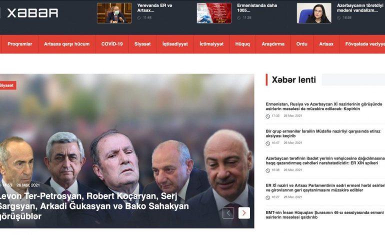 Հ1-ի լրատվական կայքը սկսել է լուրեր թողարկել նաև ադրբեջաներենով