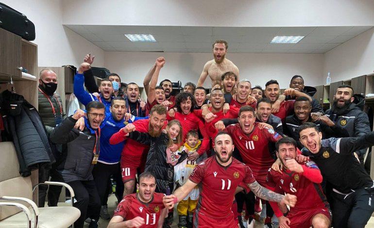 ԱԱ-2022․ Հայաստանի հավաքականը երկրորդ անընդմեջ հաղթանակը տարավ