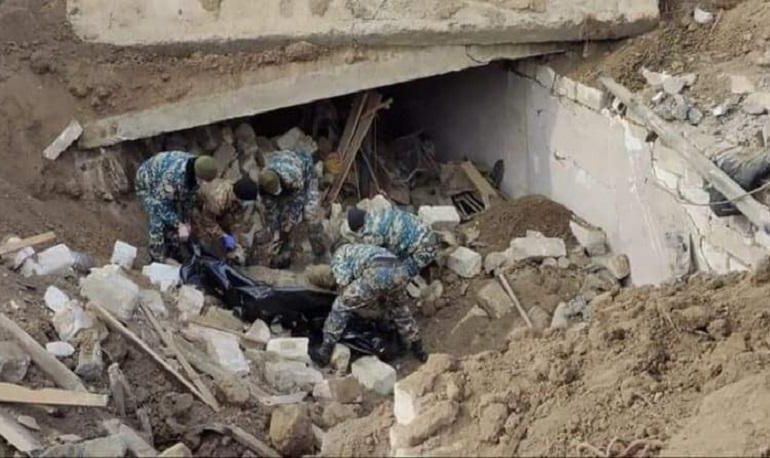 Մարտակերտի զորամասերից մեկի հարակից տարածքում հայտնաբերվել է զոհված զինծառայողի մասունք. ԱՀ ՆԳՆ ԱԻՊԾ