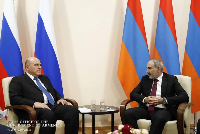 Նիկոլ Փաշինյանի ուղերձը՝  Ռուսաստանի վարչապետին