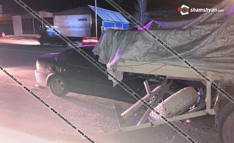 Խոշոր ավտովթարի հետեւանքով հիվանդանոց տեղափոխված ոստիկանության փոխգնդապետը մահացել է